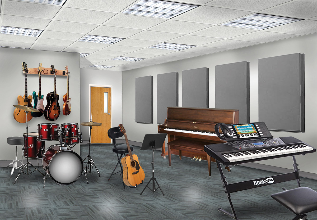 Cornerstone Day School - Music Studio
