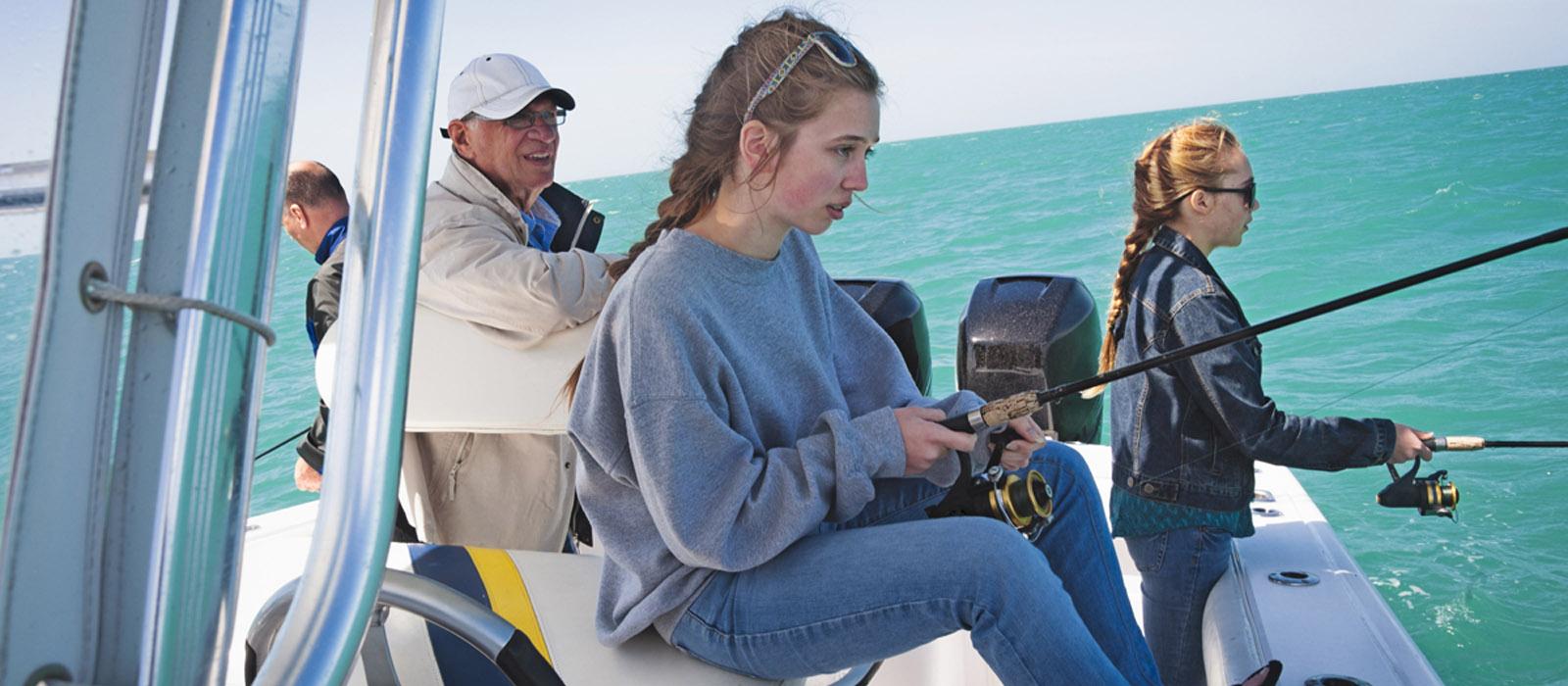 Cornerstone fishing trip