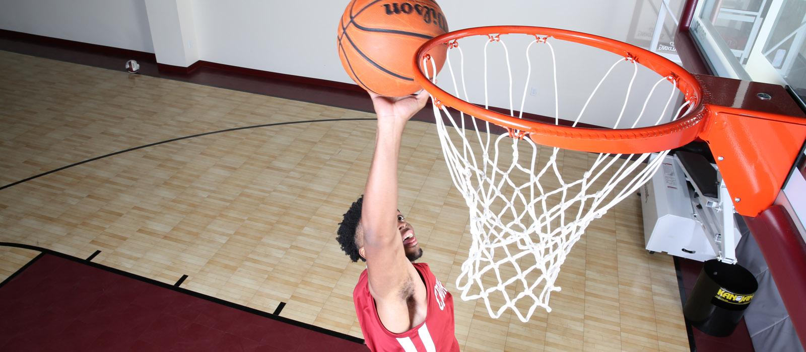 Cornerstone basketball dunk