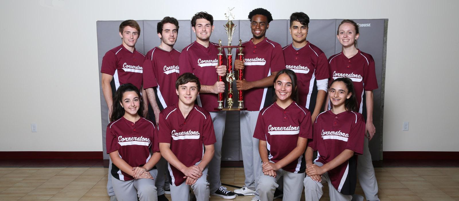 Cornerstone winning team