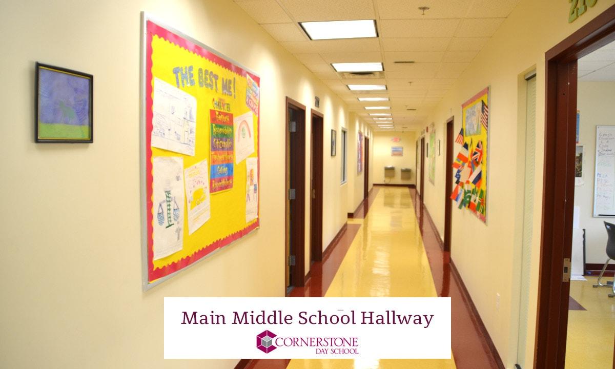 Main Middle School Hallway