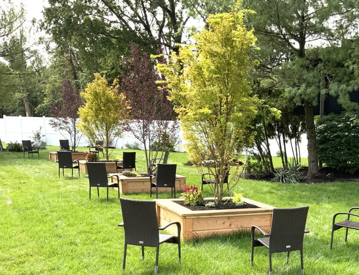 Outdoor space at Cornerstone