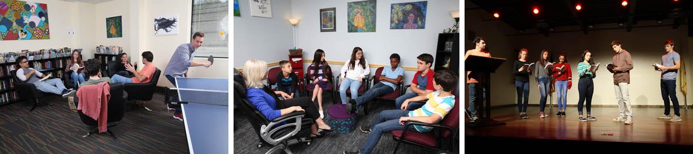 Students at Cornerstone Day School